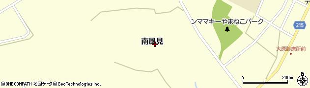 沖縄県竹富町(八重山郡)南風見周辺の地図