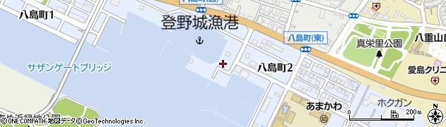 沖縄県石垣市八島町周辺の地図