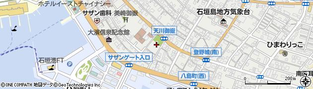 天川御嶽周辺の地図