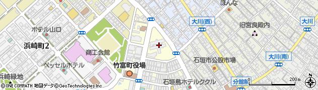 沖縄県石垣市周辺の地図