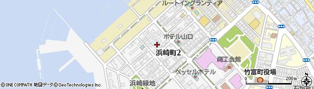 沖縄県石垣市浜崎町周辺の地図