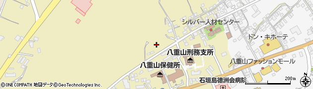 沖縄県石垣市真栄里周辺の地図