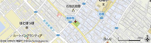 桃林寺周辺の地図