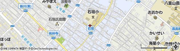 沖縄県石垣市石垣周辺の地図