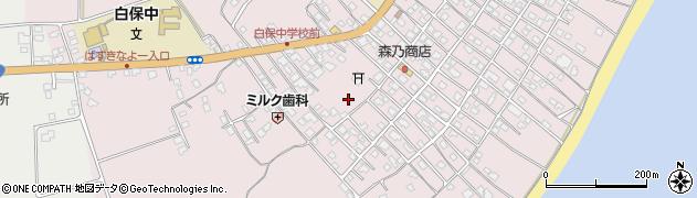 沖縄県石垣市白保周辺の地図