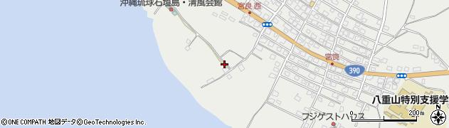 沖縄県石垣市宮良周辺の地図