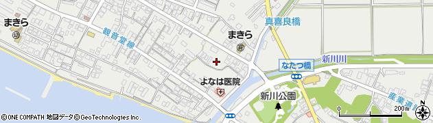 沖縄県石垣市新川周辺の地図