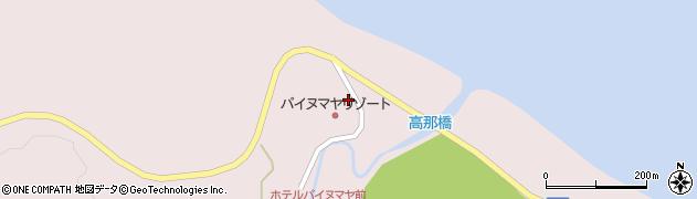 沖縄県竹富町(八重山郡)高那周辺の地図