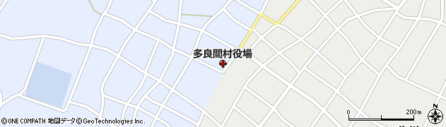 沖縄県宮古郡多良間村周辺の地図