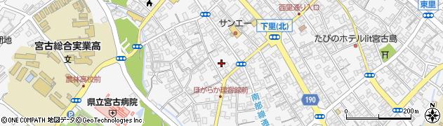 仲間御嶽周辺の地図