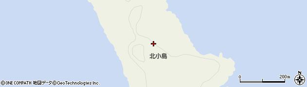 沖縄県石垣市登野城尖閣北小島周辺の地図
