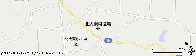 沖縄県島尻郡北大東村周辺の地図