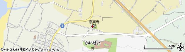 泰眞禅寺周辺の地図