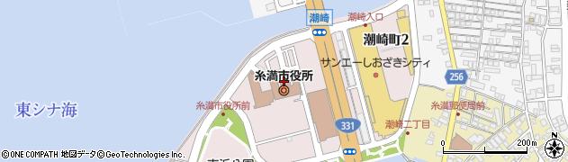 沖縄県糸満市周辺の地図