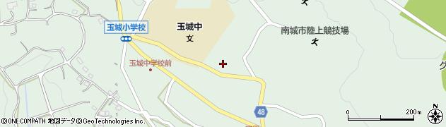 沖縄県南城市周辺の地図