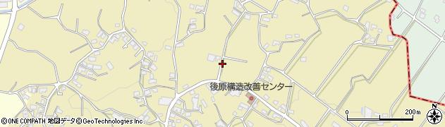 沖縄県島尻郡八重瀬町後原周辺の地図