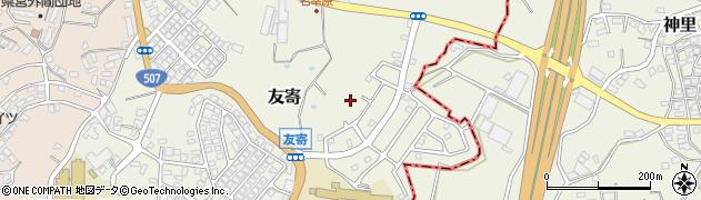沖縄県八重瀬町(島尻郡)友寄周辺の地図
