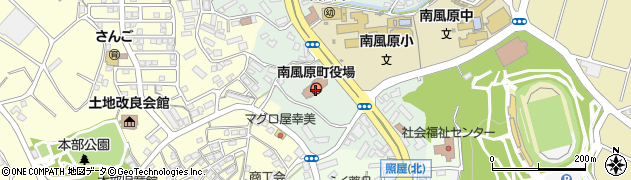 沖縄県島尻郡南風原町周辺の地図