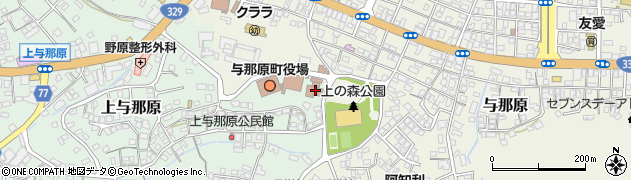 沖縄県島尻郡与那原町周辺の地図