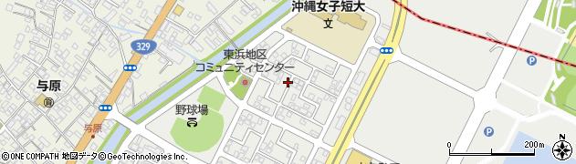 沖縄県島尻郡与那原町東浜周辺の地図