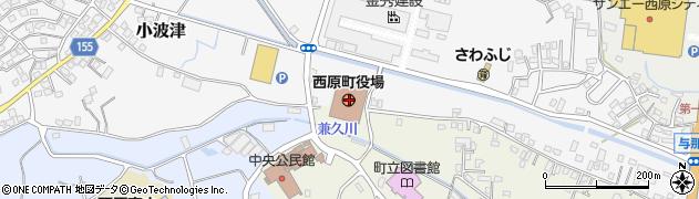 沖縄県中頭郡西原町周辺の地図