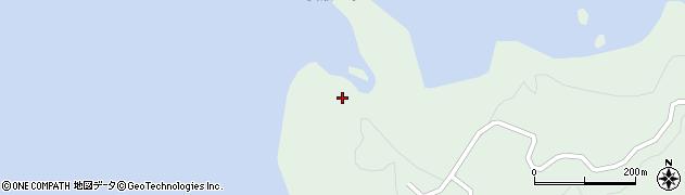 女瀬の崎展望台周辺の地図