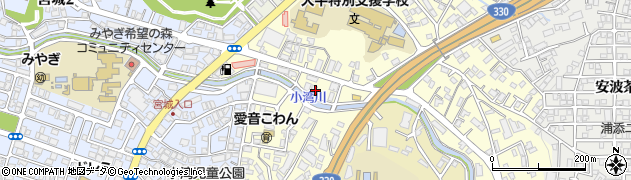 沖縄県浦添市大平周辺の地図