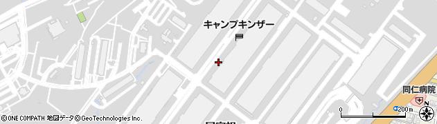 沖縄県浦添市屋富祖周辺の地図