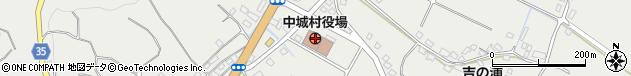 沖縄県中頭郡中城村周辺の地図