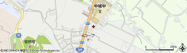 沖縄県中城村(中頭郡)周辺の地図