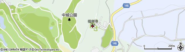 成田山福泉寺周辺の地図