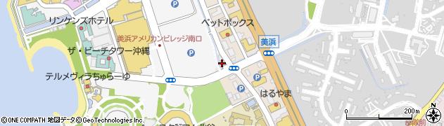 沖縄県中頭郡北谷町美浜2丁目3周辺の地図