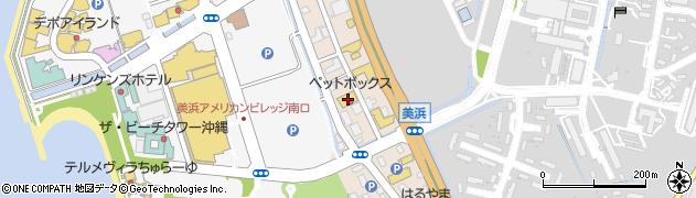 沖縄県中頭郡北谷町美浜2丁目2周辺の地図