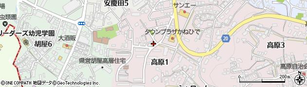 知念ストア周辺の地図