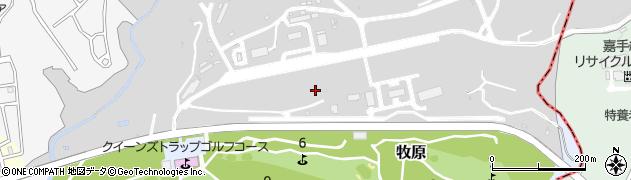沖縄県中頭郡読谷村牧原周辺の地図