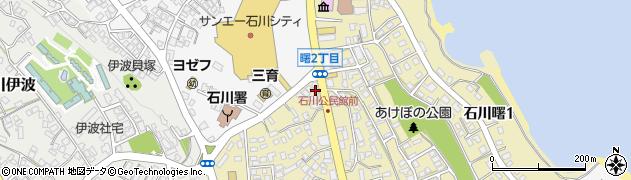 民宿中央荘周辺の地図