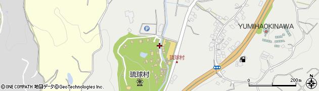 琉球村周辺の地図