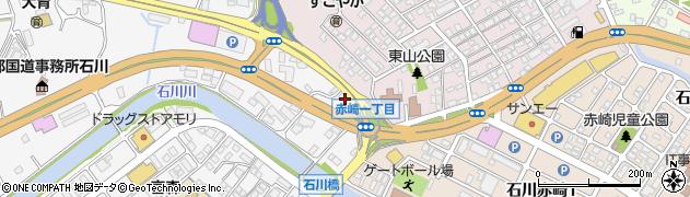 バイパスマンション周辺の地図