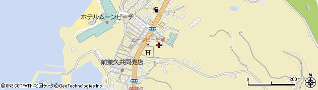 沖縄県国頭郡恩納村前兼久周辺の地図