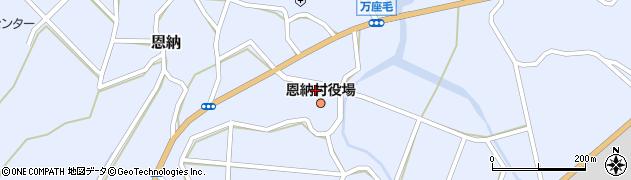 沖縄県国頭郡恩納村周辺の地図