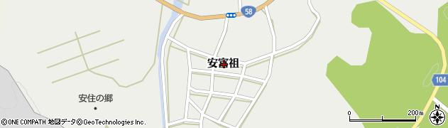 沖縄県国頭郡恩納村安富祖周辺の地図