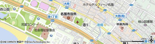 千眼寺周辺の地図