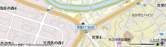 ガスト名護店周辺の地図