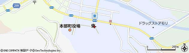 沖縄県本部町(国頭郡)東周辺の地図