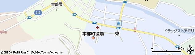 沖縄県国頭郡本部町周辺の地図
