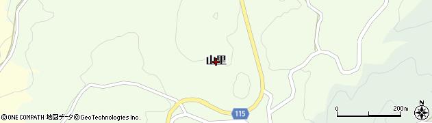 沖縄県本部町(国頭郡)山里周辺の地図