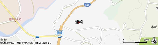 沖縄県本部町(国頭郡)浦崎周辺の地図