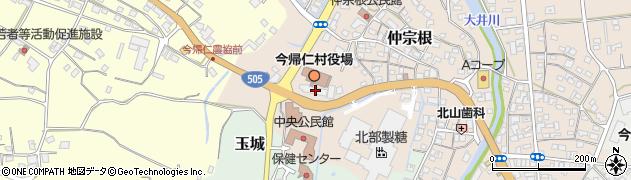 沖縄県今帰仁村(国頭郡)周辺の地図