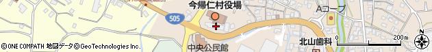沖縄県国頭郡今帰仁村周辺の地図