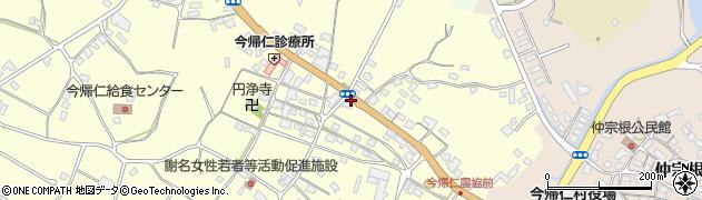 謝名周辺の地図